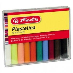 Plastelina 10 kolorów - Herlitz