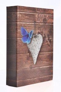 Album 10x15 na 200 zdjęć szyty Motyle - Poldom