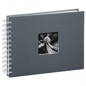 Album 24x17/50 Fine Art Szary białe strony - Hama