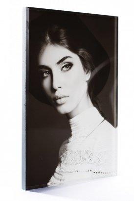 Zdjęcie na pomnik na szkle o grubości 1 cm - format 8x10 cm