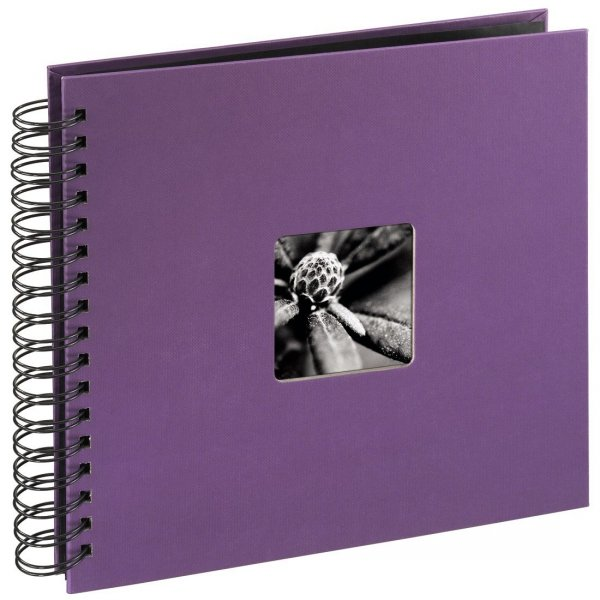 Hama album fine art. 26x24 cm 50 stron fioletowy