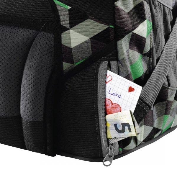 Plecak Evverclevver 2, Kolor: Crazy Cubes, System Matchpatch