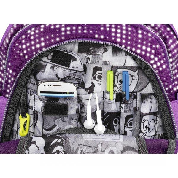 Plecak Evverclevver2 backpack, purple ga