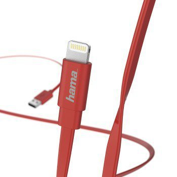 Kabel do ładowania i synchronizacji, lightning, 1,2 m, różowy