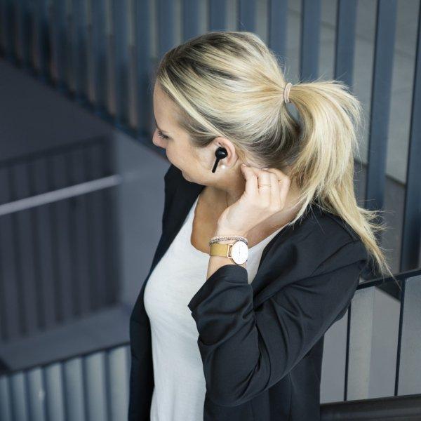 Słuchawki douszne Bluetooth True Wireless Style czarne - Hama