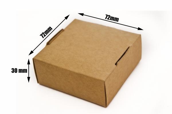 Pudełko kartonowe - opakowanie 70x70x30 mm - 10 sztuk