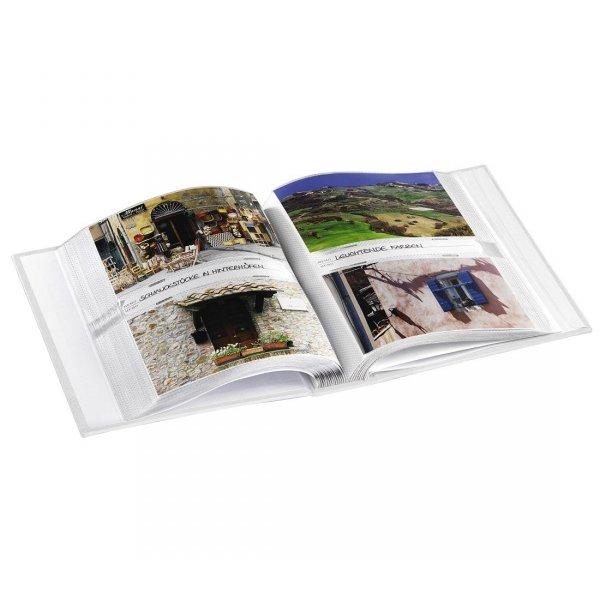 Stylowy album czerwony rower 10x15 na 200 zdjęć z opisem