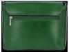 Klasyczna Listonoszka Skórzana firmy Vittoria Gotti Made in Italy Zielona