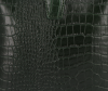 Eleganckie Torebki Skórzane Listonoszki firmy Vittoria Gotti w motyw Aligatora Butelkowa Zieleń