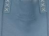 Vittoria Gotti Firmowy Shopper Made in Italy z Kosmetyczką Niebieski