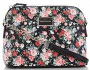 Kabelky Listonošky květinový vzor David Jones Černá