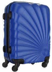 Módní Palubní kufřík Or&Mi 4 kolečka Světle Modrá