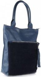 Dámské kabelky Vittoria Gotti Univerzální Modrá