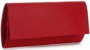 elegantní dámské kabelky psaníčka červená