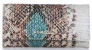 Dámská kožená peněženka Nicole tyrkysový