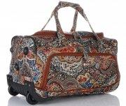 Cestovní taška na kolečkách s teleskopickou rukojetí renomované firmy Madisson Multicolor - Tmavě modrá