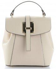 elegantní kabelka Batůžek Vittoria Gotti béžová