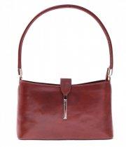 Kožené kabelky klasické a elegantní hnědá