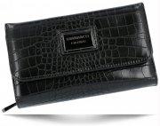 Dámská Peněženka Diana&Co Firenze motiv aligátorů černá