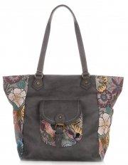 Univerzální Dámské kabelky David Jones Multicolor/Tmavě šedá