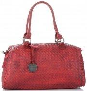 Dámská kabelka kufřík Diana&Co červená