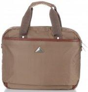 Cestovní taška firmy Snowball zlatá