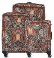 Kufry renomované firmy Madisson Sada 4v1 multicolor - tmavě modré