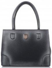 Elegantní Dámská kabelka kufřík Diana&Co Černá