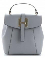 elegantní kabelka Batůžek Vittoria Gotti šedá