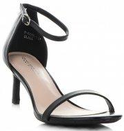 Eleganckie Sandały Damskie na Szpilce firmy Ideal Shoes Czarne