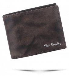 Pánská kožená peněženka Pierre Cardin Šedá