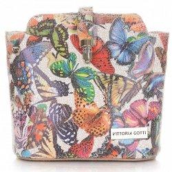 Kabelka listonoška na každý den Vittoria Gotti Multicolor Světle šedá