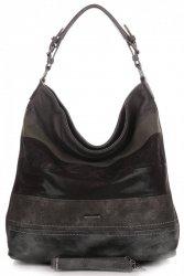 Univerzální Dámské kabelky XL David Jones Černá