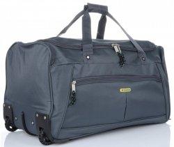 Cestovní taška na kolečkách s teleskopickou rukojetí renomované XL firmy Madisson šedá