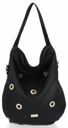 Módne a všestranné dámske tašky pre všetky príležitosti značky Conci čierny