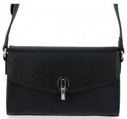 David Jones Firemná dámska taška Elegantná taška na posol pre všetky príležitosti Čierna