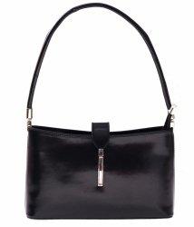 Klasické a elegantné čierne kožené tašky