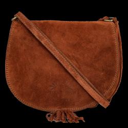 Univerzálna Kožená Messengerová taška Vittoria Gotti pre každodenné nosenie hnedá