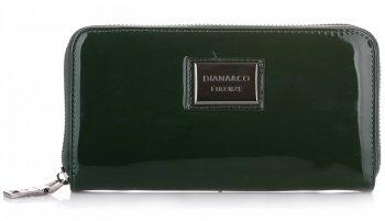 Dámská peněženka Diana&Co Firenze lak Zelená