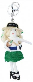 Přívěšek ke kabelce Karolína Doll Zelená