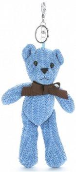 Přívěšek ke kabelce Plyšový medvídek Modrý
