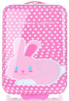 Módní Palubní kufřík s zajíčkem Madisson multicolor - růžová
