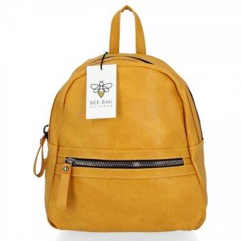 BEE BAG Univerzální Dámský Batoh Harper Žlutý