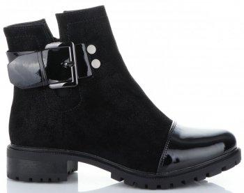Klasický Dámské boty Lady Glory Lakované Černé