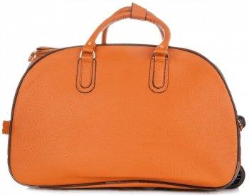 Cestovní taška na kolečkách s výsuvnou rukojetí Or&Mi oranžová