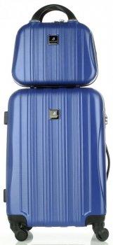 Kufry renomované firmy Madisson Sada 2 v 1 modrá