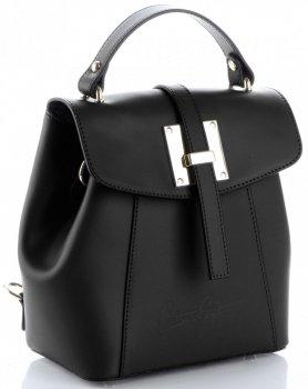 elegantní kabelka Batůžek Vittoria Gotti černá