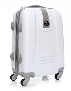 Palubní kufřík Or&Mi 4 kolečka bílá