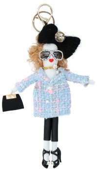 Přívěšek ke kabelce Alice Doll Světle modrá