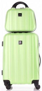 Kufry renomované firmy Madisson Sada 2 v 1 zelená